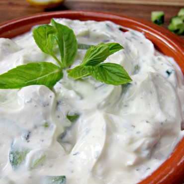 Tzatziki grec traditionnel